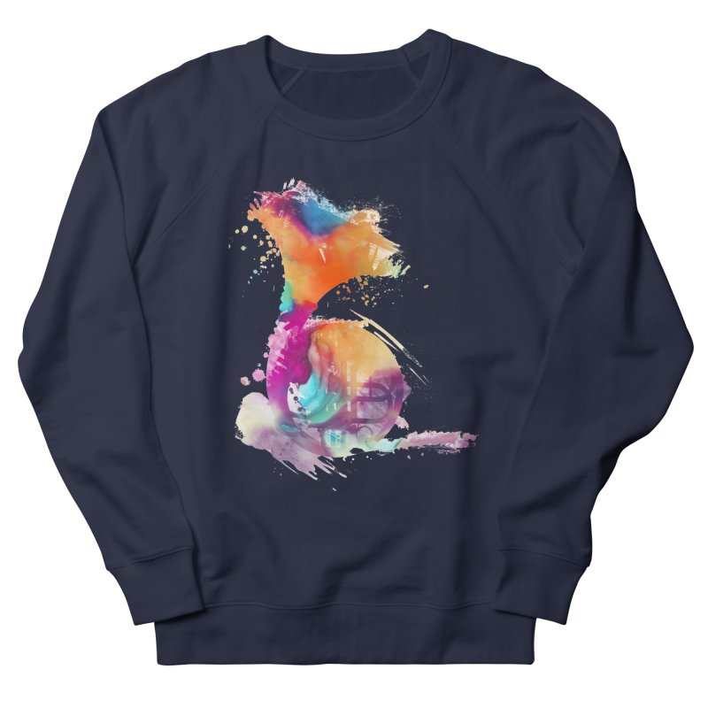 French Horn Men's French Terry Sweatshirt by jbjart Artist Shop