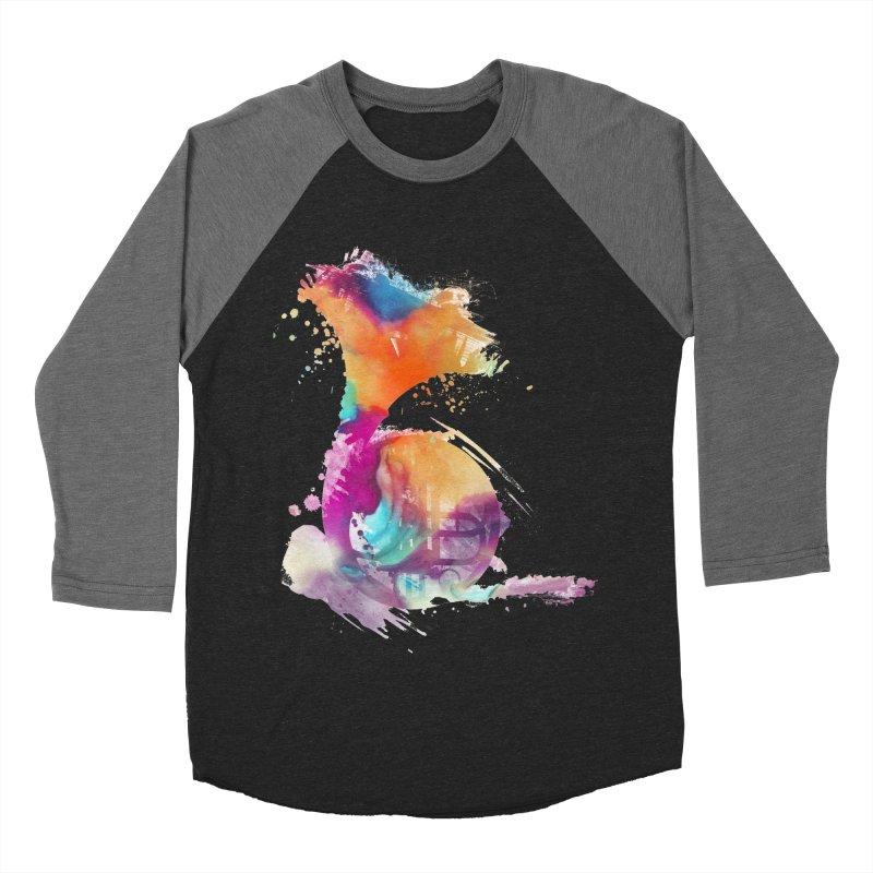 French Horn Men's Baseball Triblend Longsleeve T-Shirt by jbjart Artist Shop