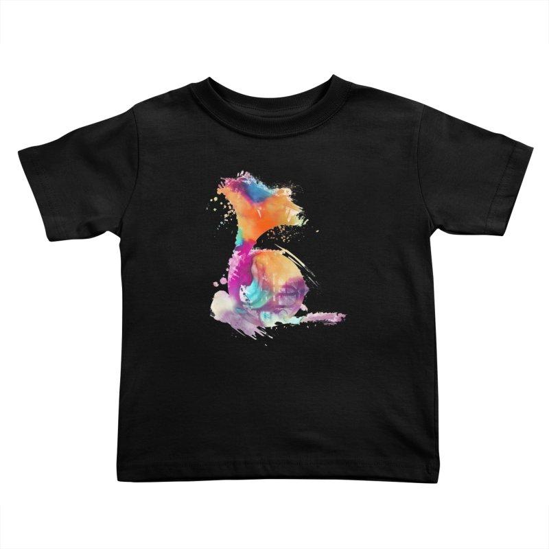 French Horn Kids Toddler T-Shirt by jbjart Artist Shop