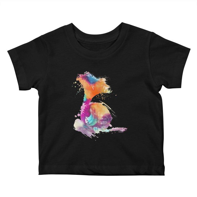 French Horn Kids Baby T-Shirt by jbjart Artist Shop