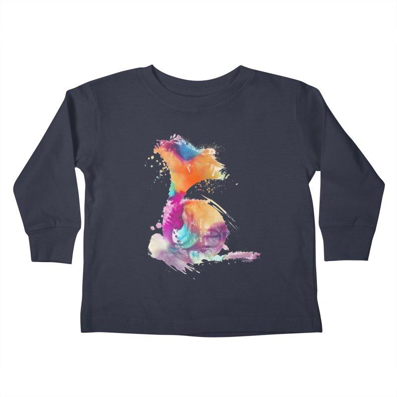 French Horn Kids Toddler Longsleeve T-Shirt by jbjart Artist Shop