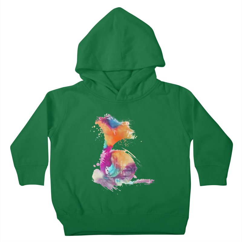 French Horn Kids Toddler Pullover Hoody by jbjart Artist Shop