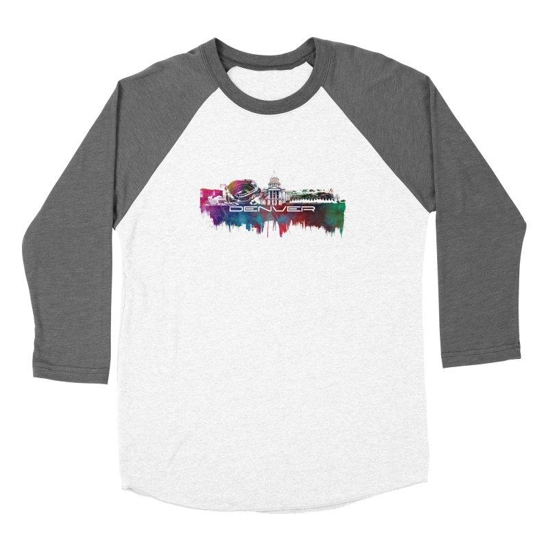 Denver skyline Women's Longsleeve T-Shirt by jbjart Artist Shop