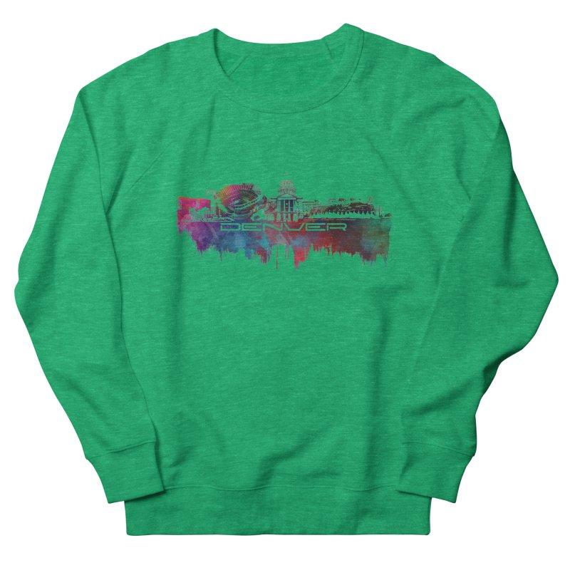 Denver skyline Women's Sweatshirt by jbjart Artist Shop