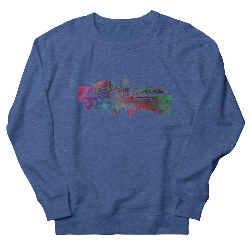 Denver skyline Men's Sweatshirt by jbjart Artist Shop