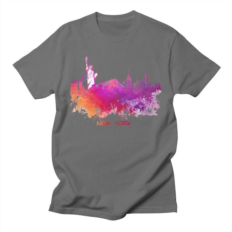 New York Men's T-Shirt by jbjart Artist Shop