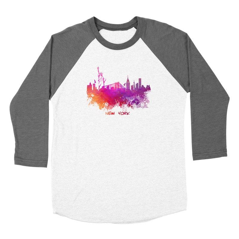 New York Women's Longsleeve T-Shirt by jbjart Artist Shop