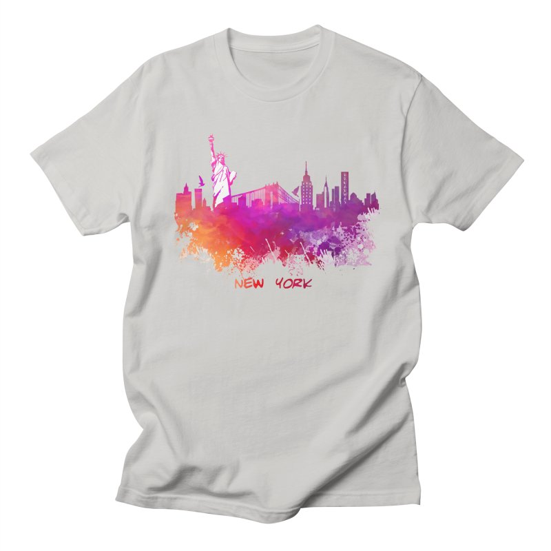 New York Men's Regular T-Shirt by jbjart Artist Shop