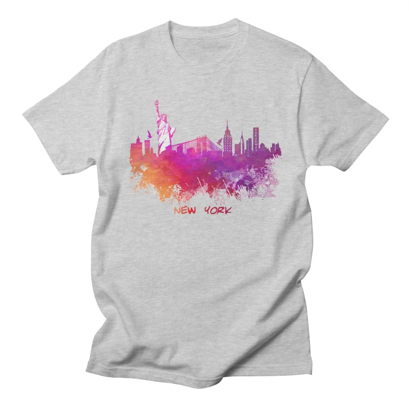 New York Men's Regular T-Shirt by jbjart Artist Shop