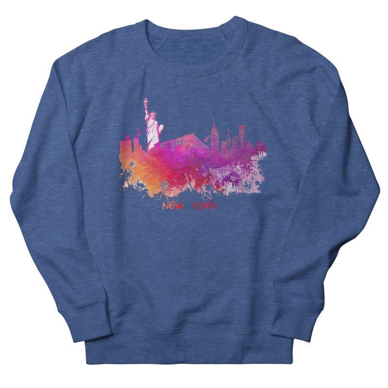 New York Men's Sweatshirt by jbjart Artist Shop