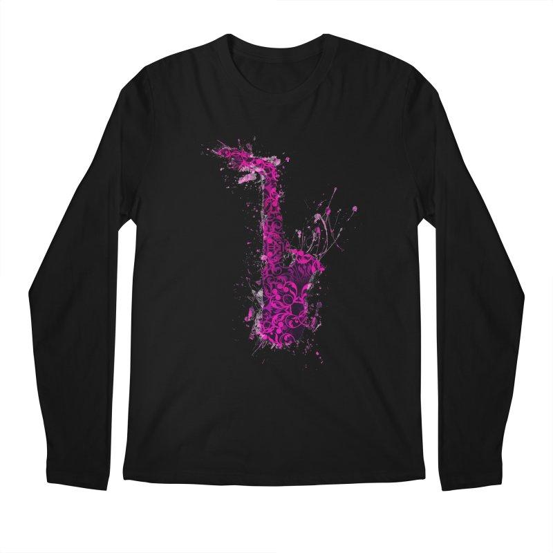 Saxophone Men's Regular Longsleeve T-Shirt by jbjart Artist Shop