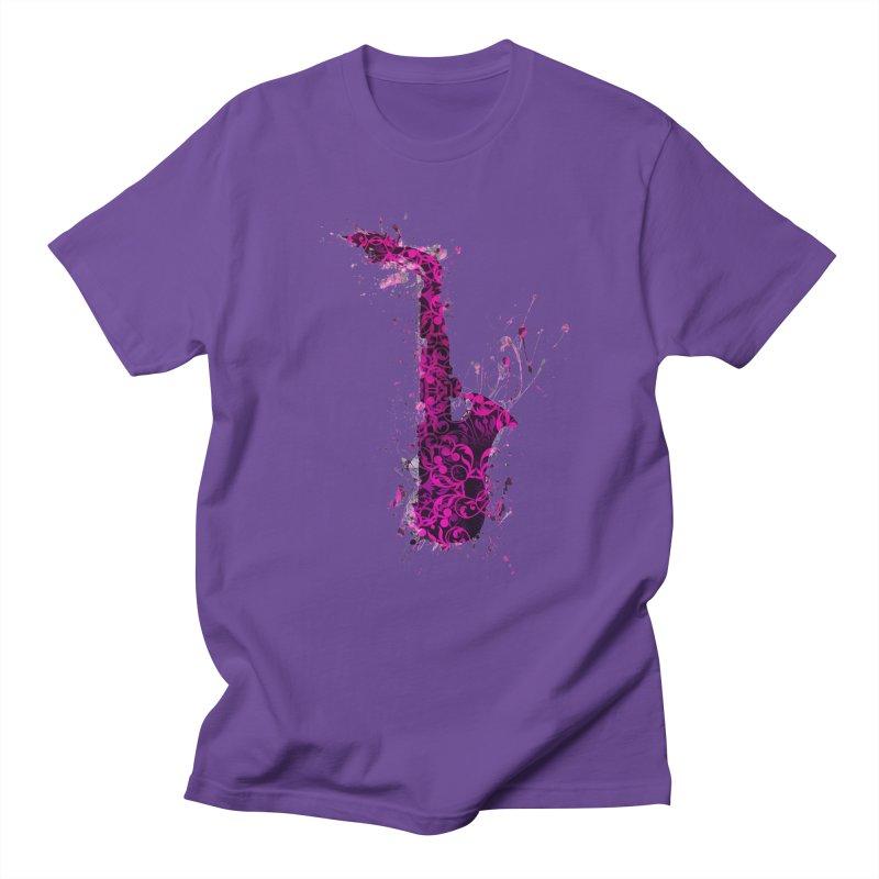 Saxophone Men's T-Shirt by jbjart Artist Shop