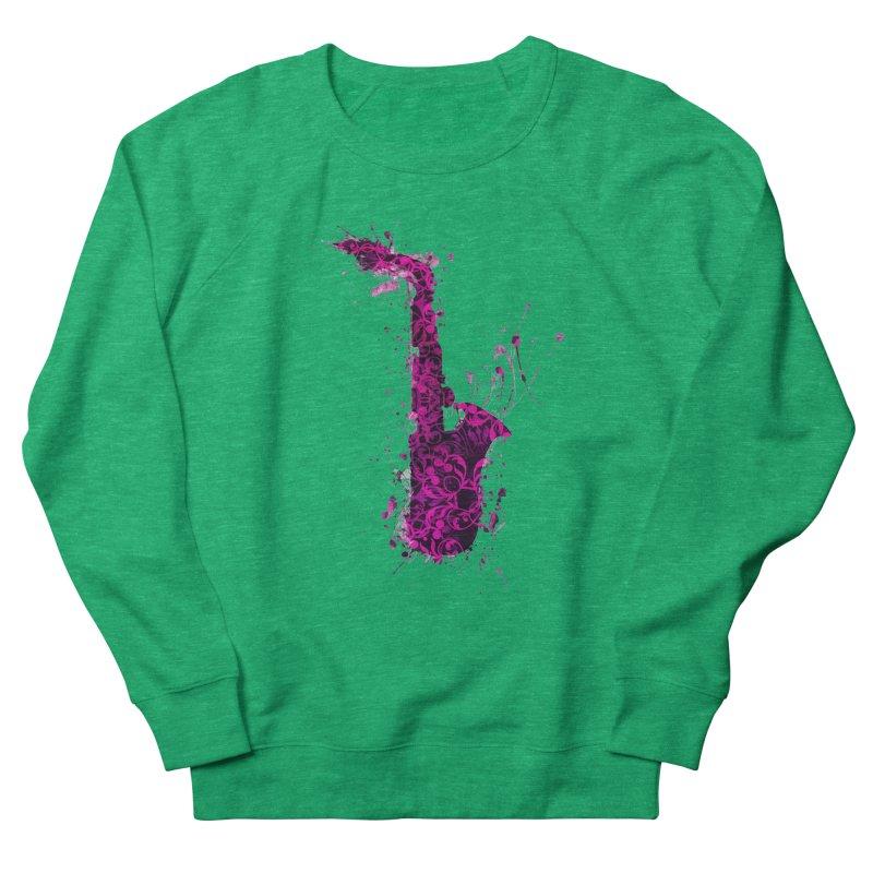 Saxophone Women's Sweatshirt by jbjart Artist Shop