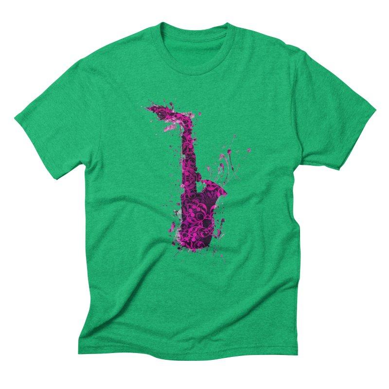 Saxophone Men's Triblend T-Shirt by jbjart Artist Shop