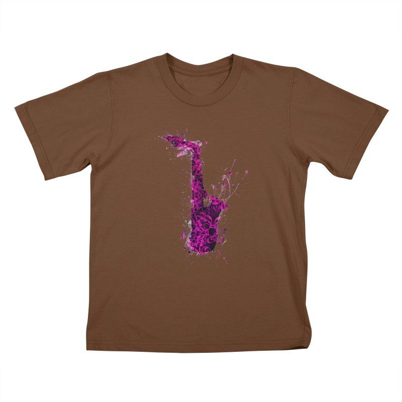 Saxophone Kids T-Shirt by jbjart Artist Shop