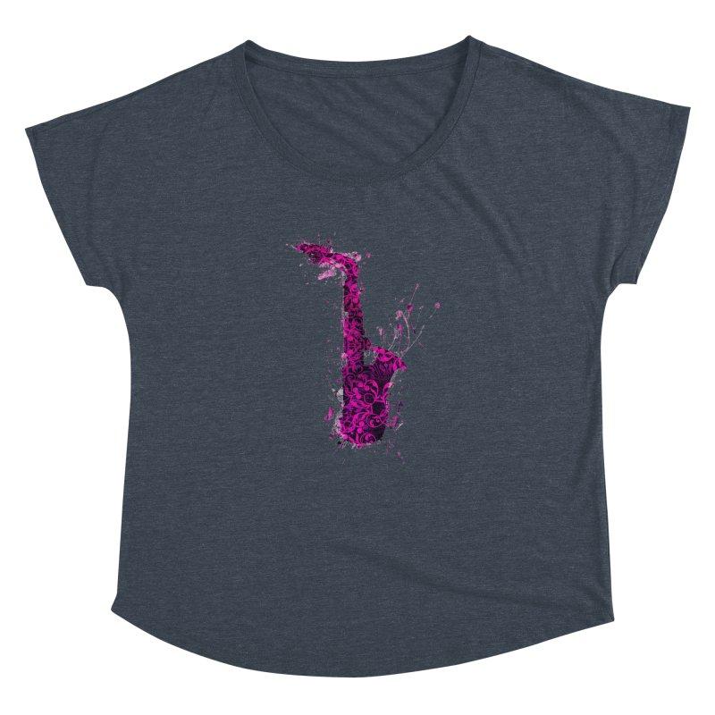 Saxophone Women's Dolman Scoop Neck by jbjart Artist Shop