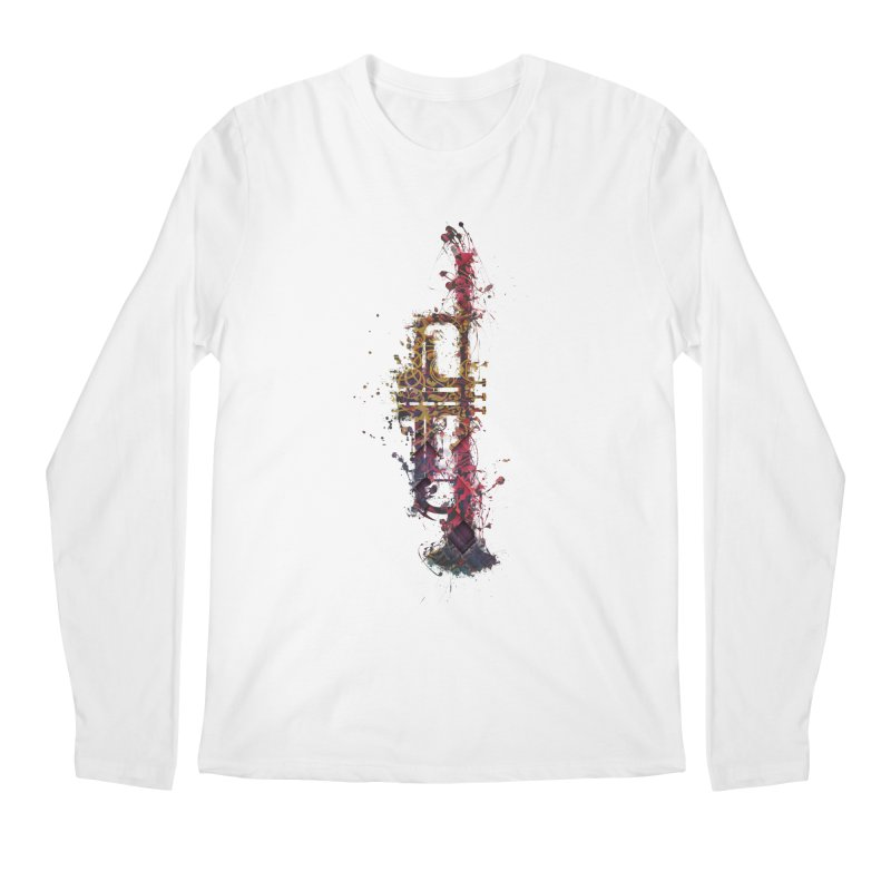 Trombone Men's Regular Longsleeve T-Shirt by jbjart Artist Shop