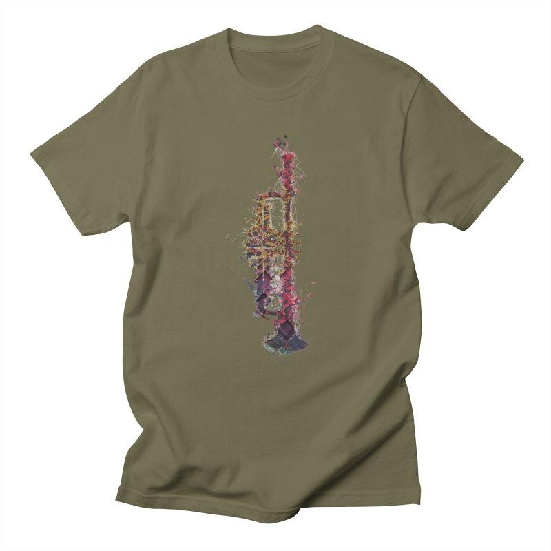Trombone Men's Regular T-Shirt by jbjart Artist Shop