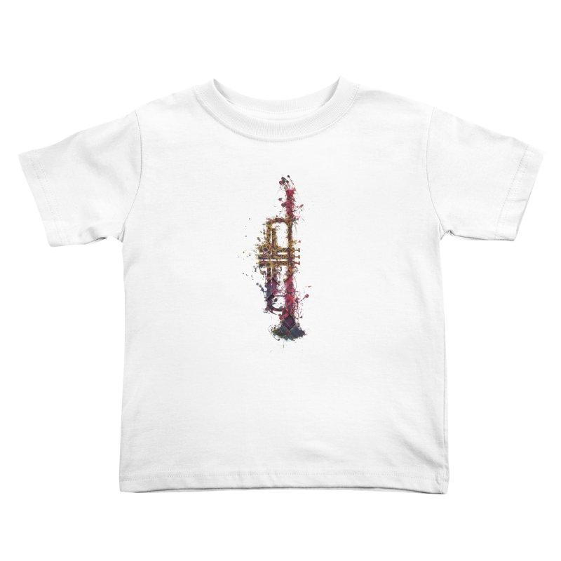Trombone Kids Toddler T-Shirt by jbjart Artist Shop