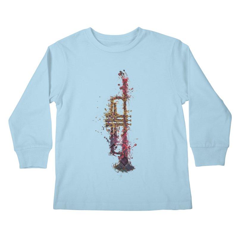 Trombone Kids Longsleeve T-Shirt by jbjart Artist Shop