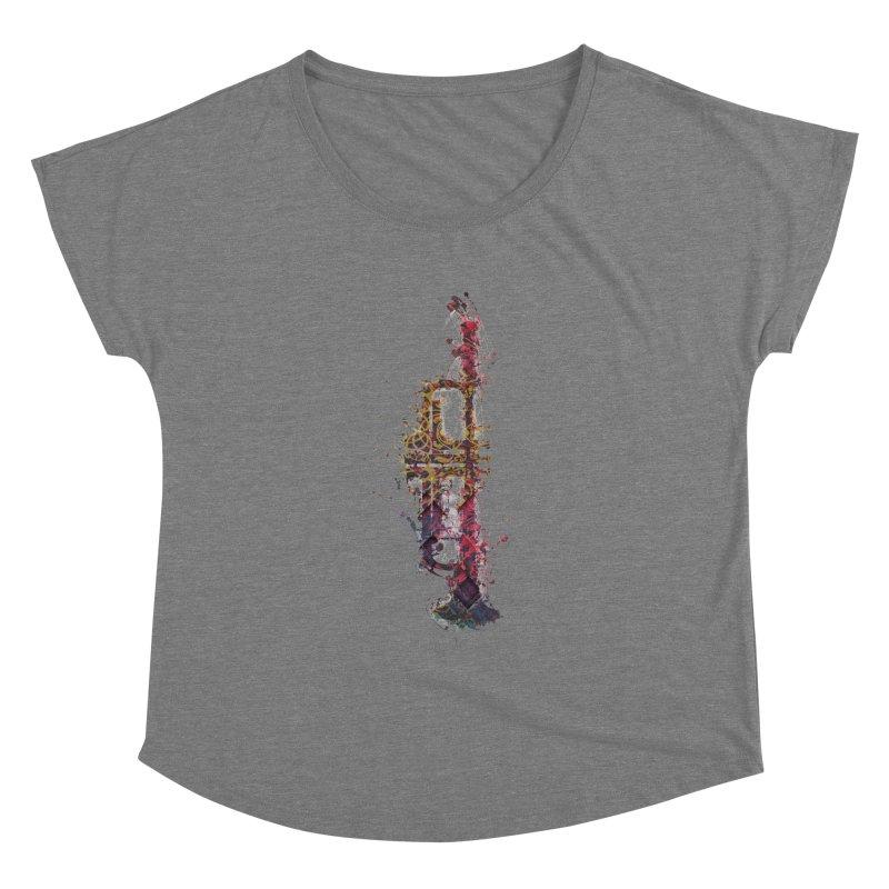 Trombone Women's Scoop Neck by jbjart Artist Shop