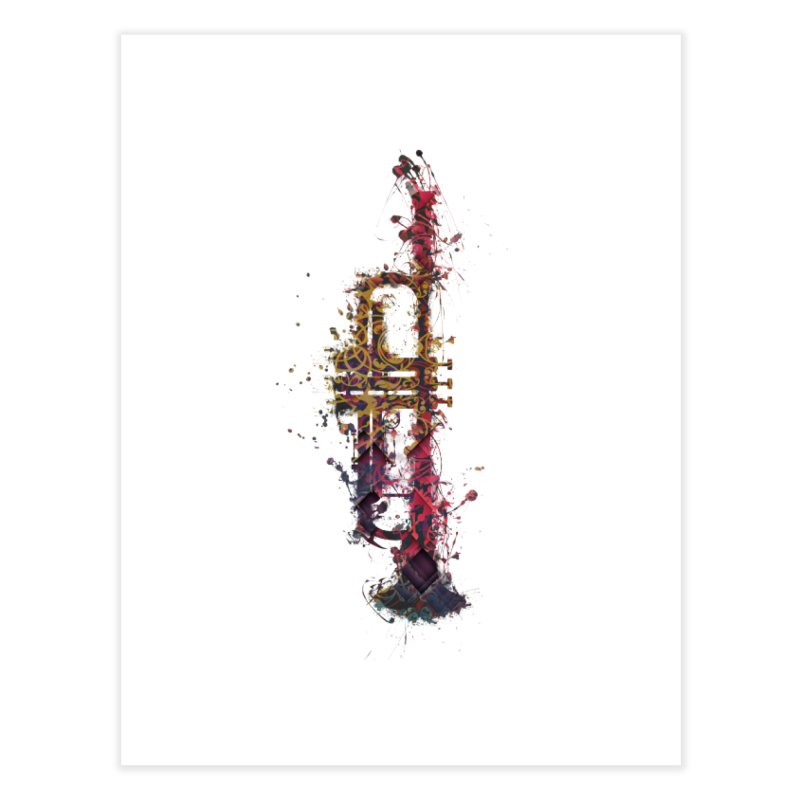 Trombone Home Fine Art Print by jbjart Artist Shop