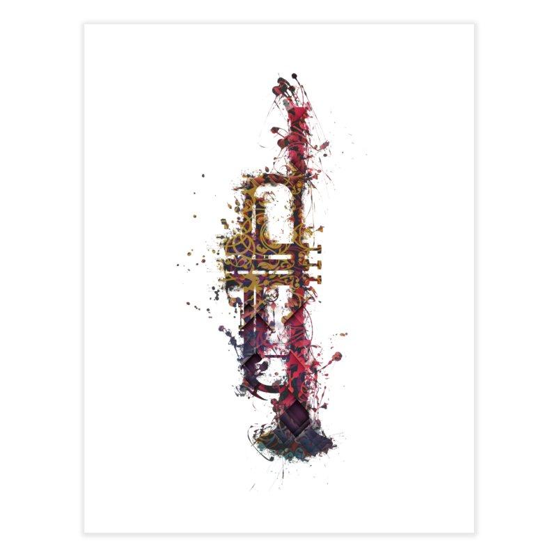 Trombone Home Fine Art Print by jbjart Artist Shop