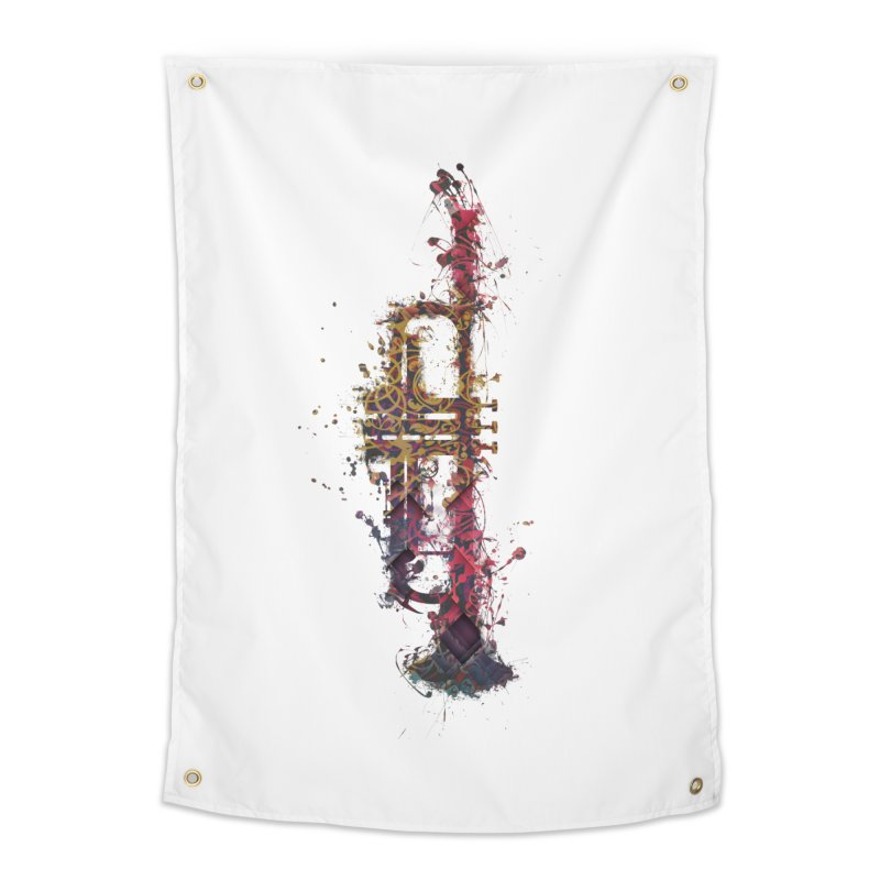 Trombone Home Tapestry by jbjart Artist Shop