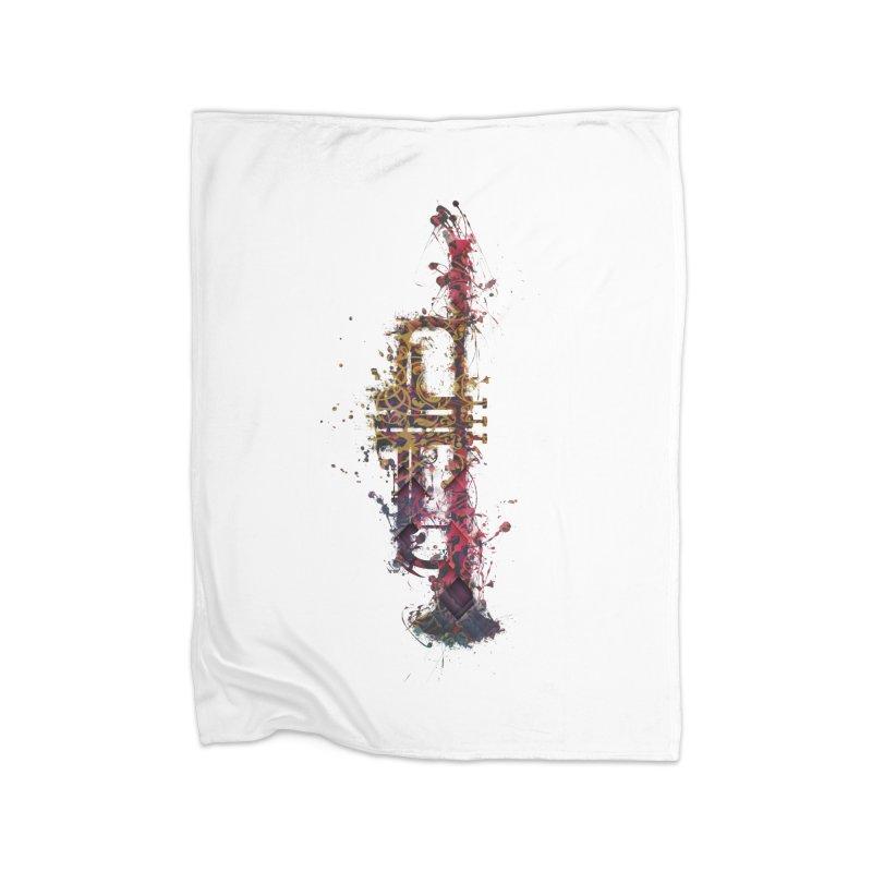 Trombone Home Blanket by jbjart Artist Shop