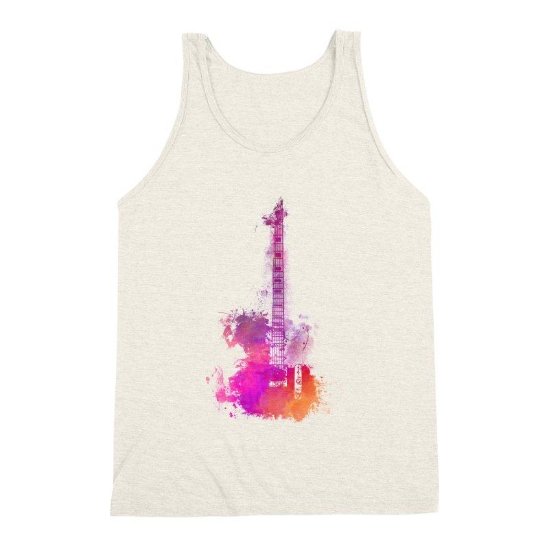 Guitar pink Men's Tank by jbjart Artist Shop