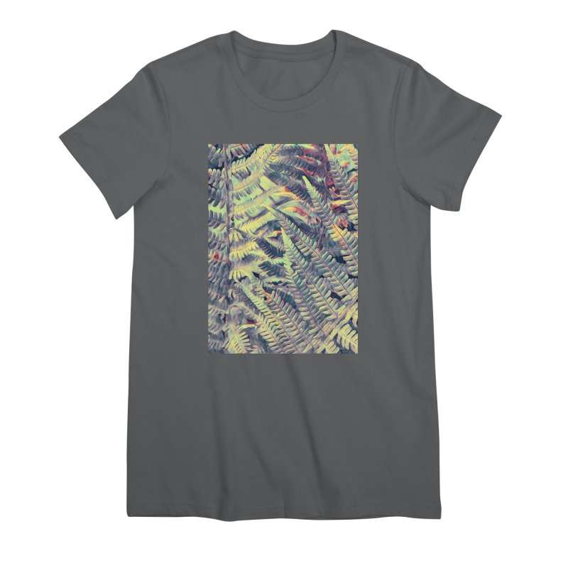 ferns flora art Women's T-Shirt by jbjart Artist Shop