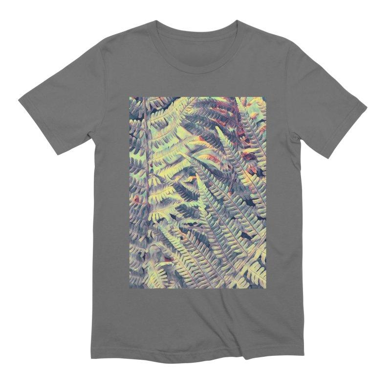 ferns flora art Men's T-Shirt by jbjart Artist Shop