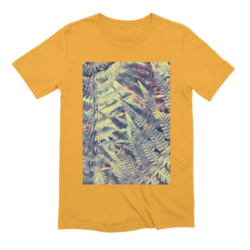 ferns flora art Men's Extra Soft T-Shirt by jbjart Artist Shop