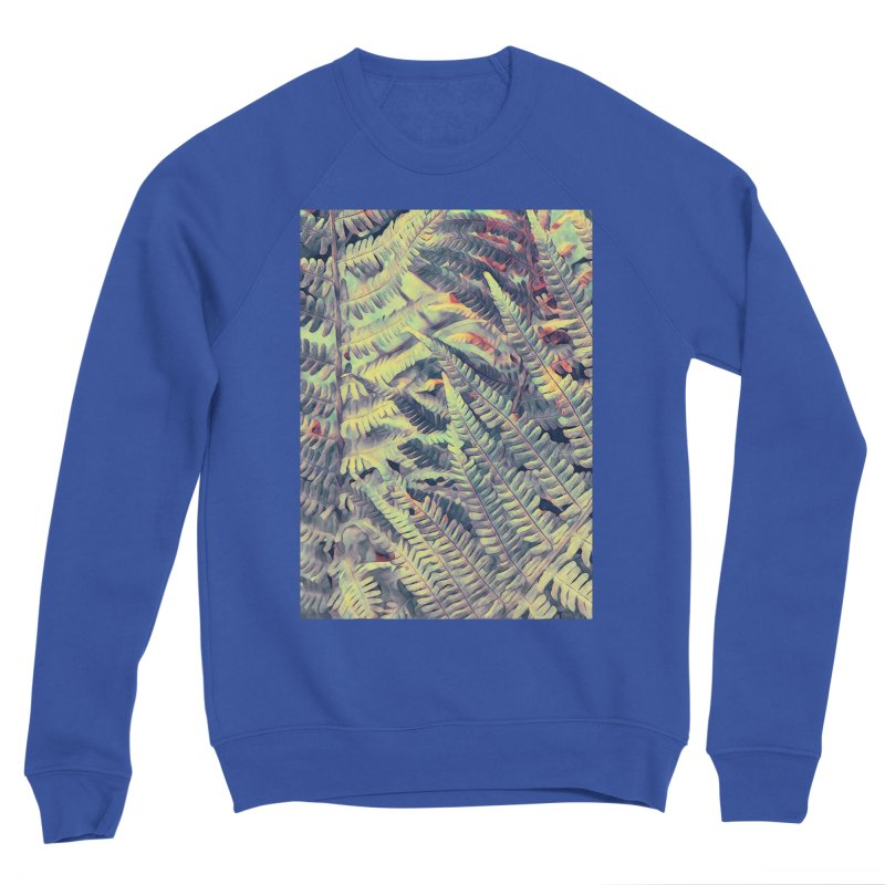 ferns flora art Women's Sweatshirt by jbjart Artist Shop