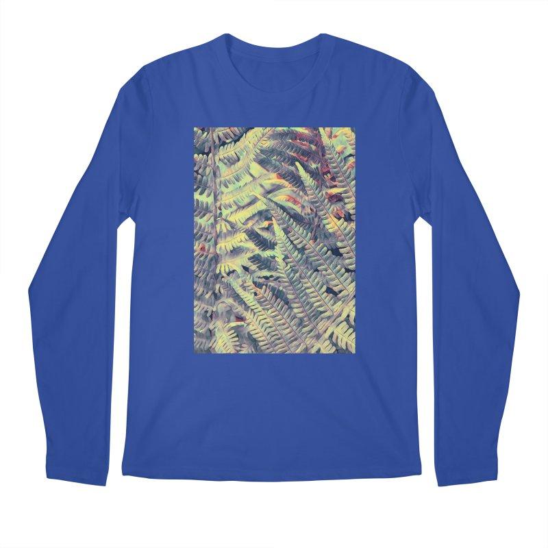 ferns flora art Men's Regular Longsleeve T-Shirt by jbjart Artist Shop