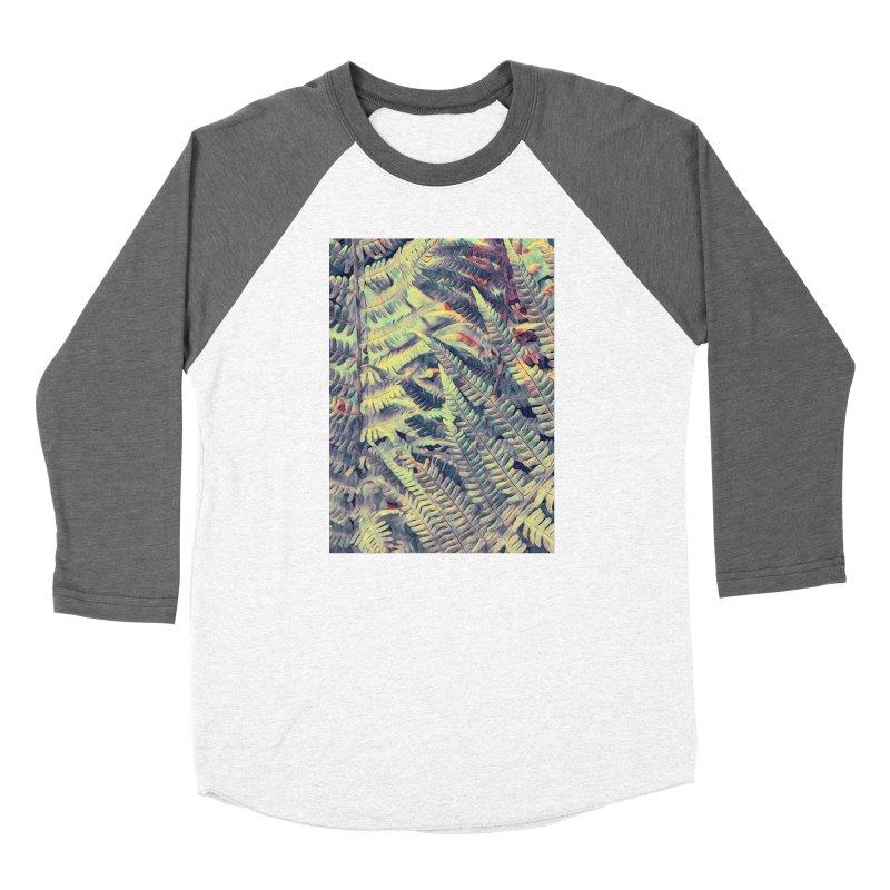 ferns flora art Women's Longsleeve T-Shirt by jbjart Artist Shop