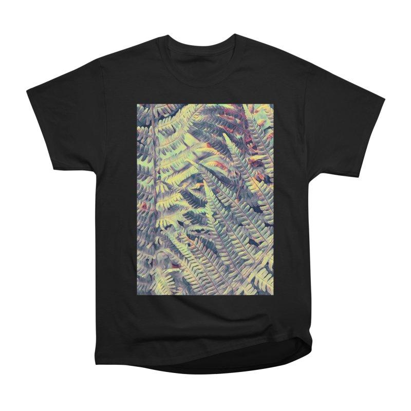 ferns flora art Men's Heavyweight T-Shirt by jbjart Artist Shop