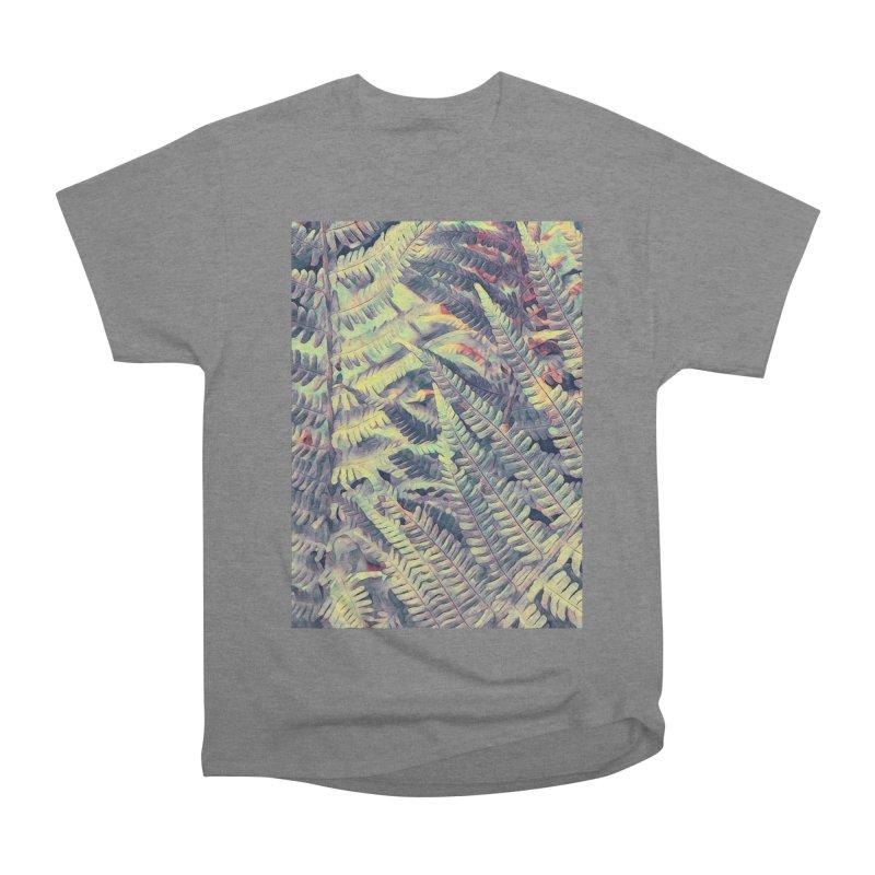ferns flora art Women's Heavyweight Unisex T-Shirt by jbjart Artist Shop