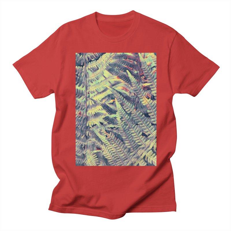 ferns flora art Women's Regular Unisex T-Shirt by jbjart Artist Shop