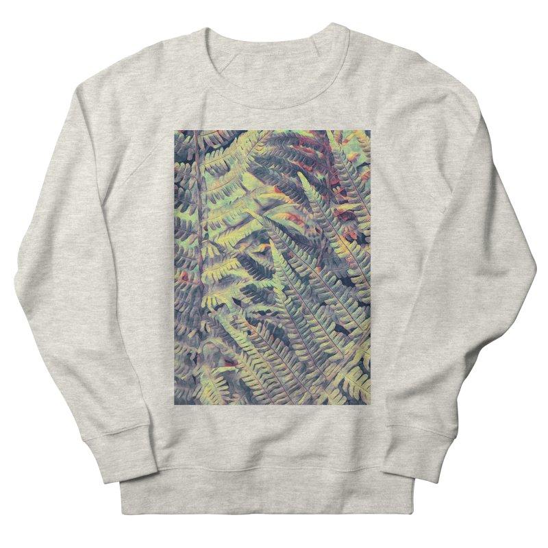 ferns flora art Men's French Terry Sweatshirt by jbjart Artist Shop