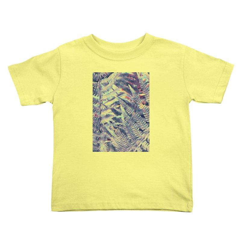 ferns flora art Kids Toddler T-Shirt by jbjart Artist Shop