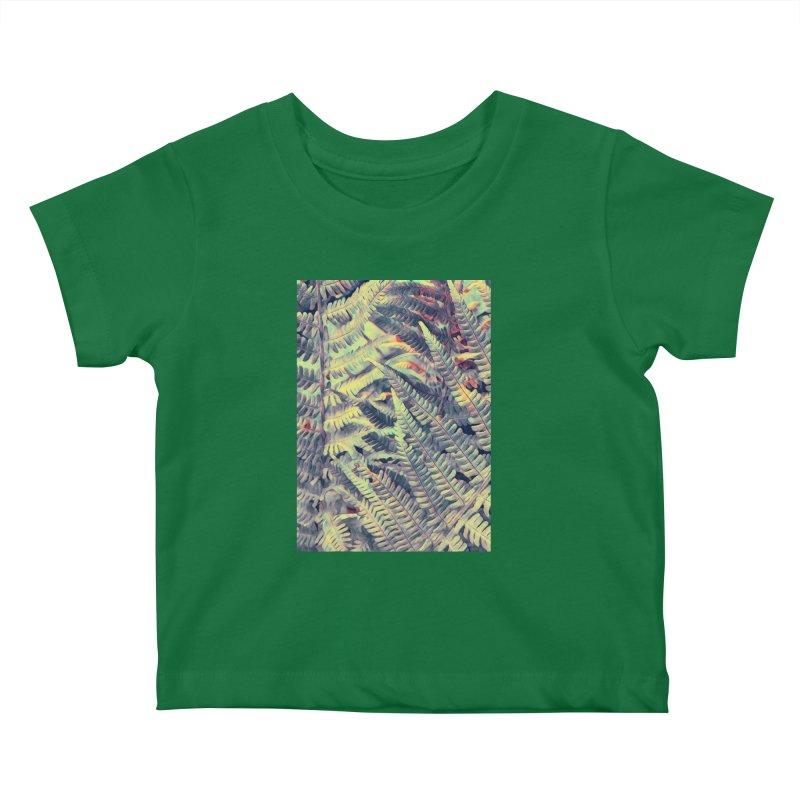 ferns flora art Kids Baby T-Shirt by jbjart Artist Shop