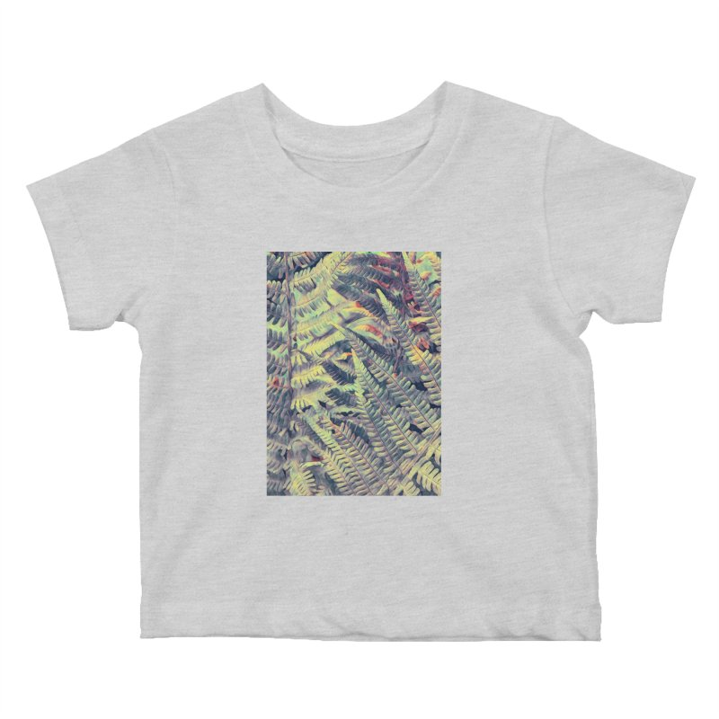 ferns flora art Kids Baby T-Shirt by jbjart Artist Shop