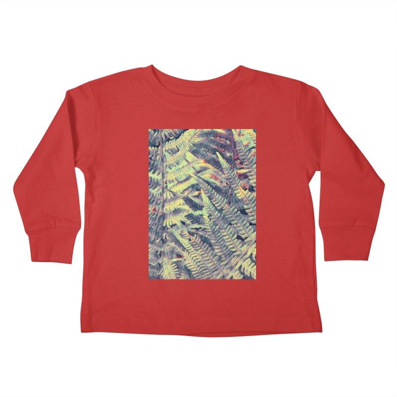 ferns flora art Kids Toddler Longsleeve T-Shirt by jbjart Artist Shop