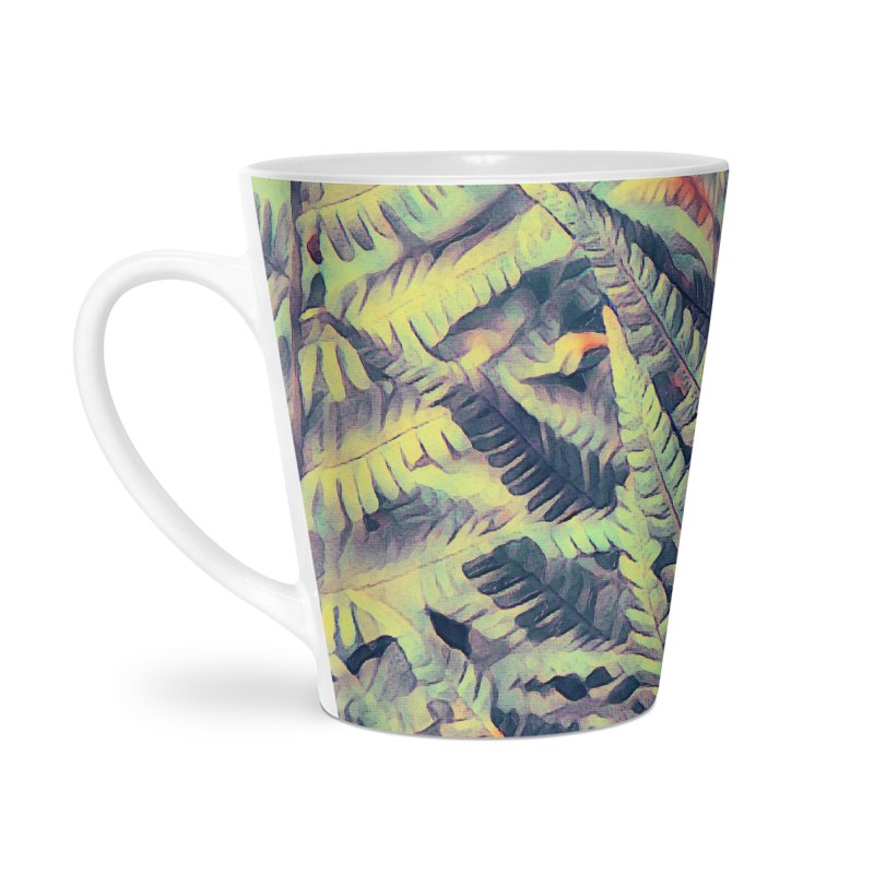 ferns flora art Accessories Latte Mug by jbjart Artist Shop