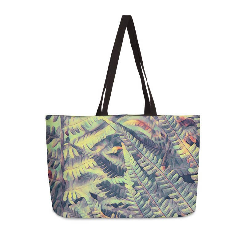 ferns flora art Accessories Weekender Bag Bag by jbjart Artist Shop