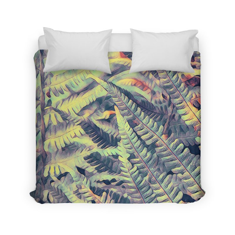 ferns flora art Home Duvet by jbjart Artist Shop