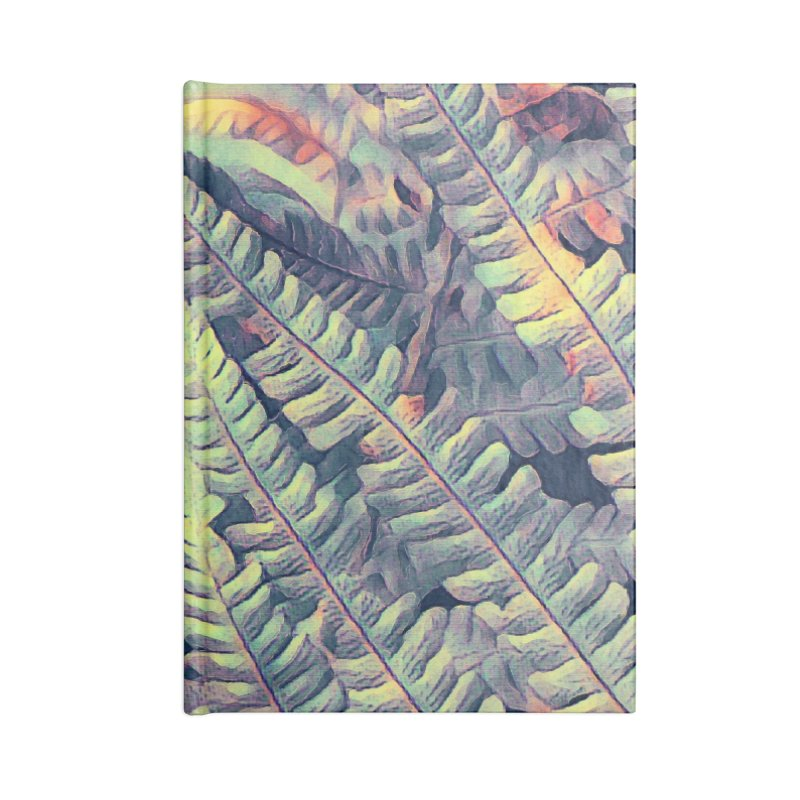 ferns flora art Accessories Lined Journal Notebook by jbjart Artist Shop