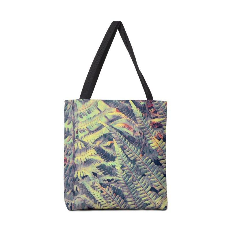 ferns flora art Accessories Tote Bag Bag by jbjart Artist Shop