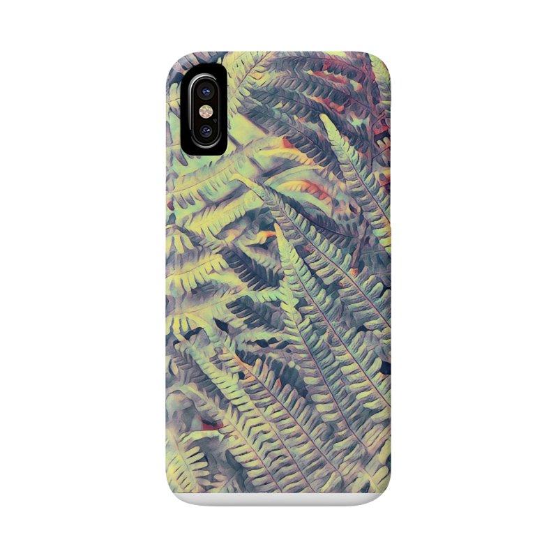ferns flora art Accessories Phone Case by jbjart Artist Shop
